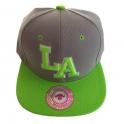 Casquette Los Angeles verte et grise