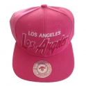 Casquette Los Angeles rose