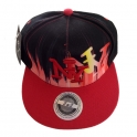 "Casquette New York ""Graph"" rouge"