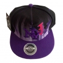 "Casquette New York ""Graph"" violette"