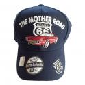 "Casquette Route 66 ""The Mother Road"" bleu nuit"