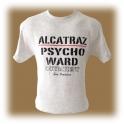 """T-Shirt Alcatraz """"Psycho Ward"""" gris"""