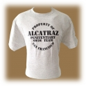 "T-Shirt Alcatraz ""Penitentiary Swim Team"" gris"