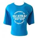 "T-Shirt Alcatraz ""Penitentiary Swim Team"" turquoise"