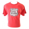 T-Shirt Alcatraz rouge