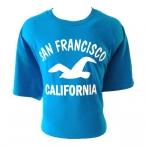 T-Shirt San Francisco turquoise