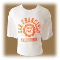T-Shirt San Francisco blanc