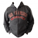 Sweat Shirt (Hoodie) à capuche San Francisco gris anthracite