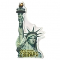 "Plaque Métallique New York ""Statue de la liberté"""