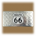 """Plaque Route 66 """"Métal"""""""