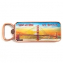 "Magnet Décapsuleur San Francisco ""Golden Gate Bridge"" métal illustré"