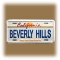 "Magnet Los Angeles ""Beverly Hills"" blanc"