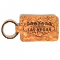 "Porte Clé Las Vegas ""Lucky Chip"" $1.000.000 doré"
