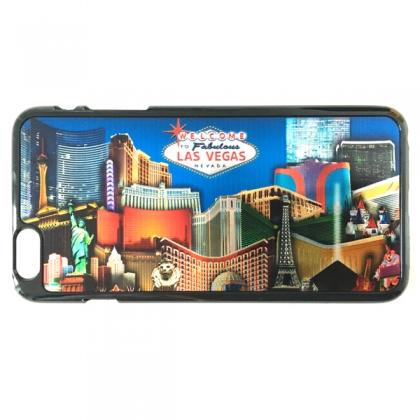 """Coque iPhone 6 plus et 6S plus Las Vegas """"Casinos"""" en couleurs"""
