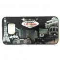 "Coque Samsung Galaxy s6 Case Las Vegas ""Casinos"" Noir et Argent"