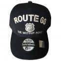 Casquette Route 66 noire