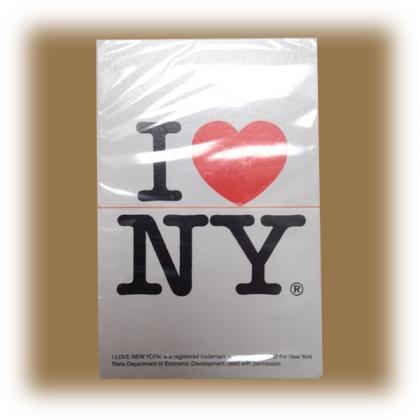 "Jeu de Cartes ""I Love New York"" blanc"