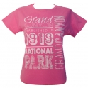 T-Shirt femme Grand Canyon rose