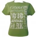 T-Shirt femme Grand Canyon vert