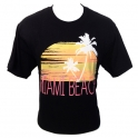 T-Shirt Miami Beach noir