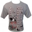 """T-Shirt Orlando """"Requins"""" gris"""