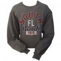 "Sweat Shirt Miami ""South Beach"" gris"