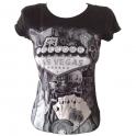 """T-Shirt femme Las Vegas noir """"Welcome to Fabulous Las Vegas"""""""