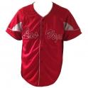 Chemise Baseball Las Vegas rouge