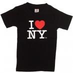 """T-Shirt Enfant """"I Love New York"""" noir"""