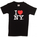 "T-Shirt Enfant ""I Love New York"" noir"