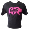 T-Shirt Californie gris anthracite