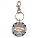 """Porte Clé Las Vegas """"Lucky Chip"""" $5000 gris"""