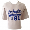 T-Shirt Los Angeles beige