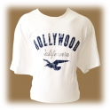 T-Shirt Hollywood blanc