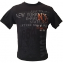 "T-Shirt New York City ""NYC"" orange"