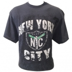 T-Shirt New York City gris