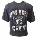 T-Shirt New York marron