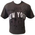 T-Shirt New York Bleu