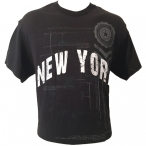 T-Shirt New York noir