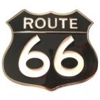 Boucle de Ceinture Route 66 noire