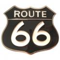 Boucle de Ceinture Route 66 blanche