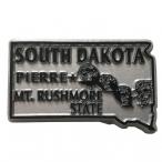 "Magnet USA ""Dakota du Sud"" Gris"