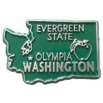 "Magnet USA ""Washington"" Vert"