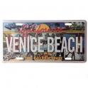 Plaque Métallique Venice Beach