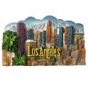 Magnet Los Angeles en relief