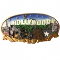 Magnet Hollywood en relief