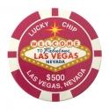 Magnet Jeton Géant Las Vegas $100 noir