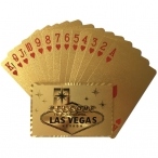 """Jeu de Cartes de Luxe """"Welcome to Fabulous Las Vegas"""" or"""