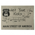 "Jeu de Cartes Route 66 ""Get Your Kicks"""