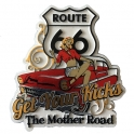 "Magnet Route 66 ""Get Your Kicks"""